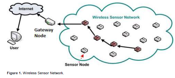 the data obtained from the physical environment by various sensors in sensor  networks are wirelessly transferred onto their target data processing  network