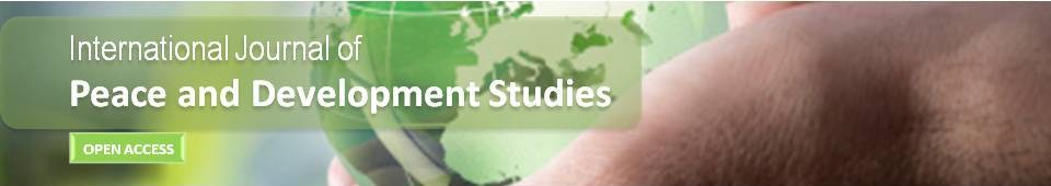 International Journal of Peace and Development Studies