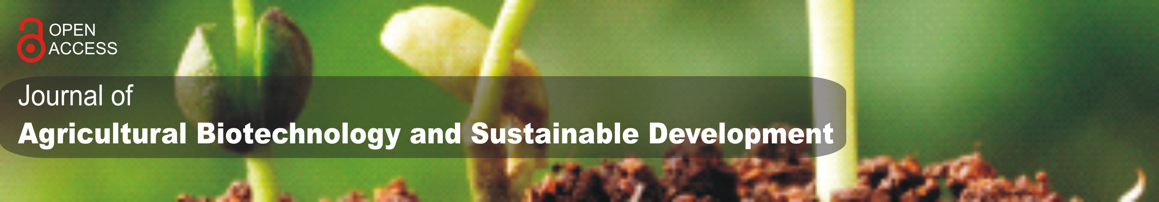 Journal of Agricultural Biotechnology and Sustainable Development
