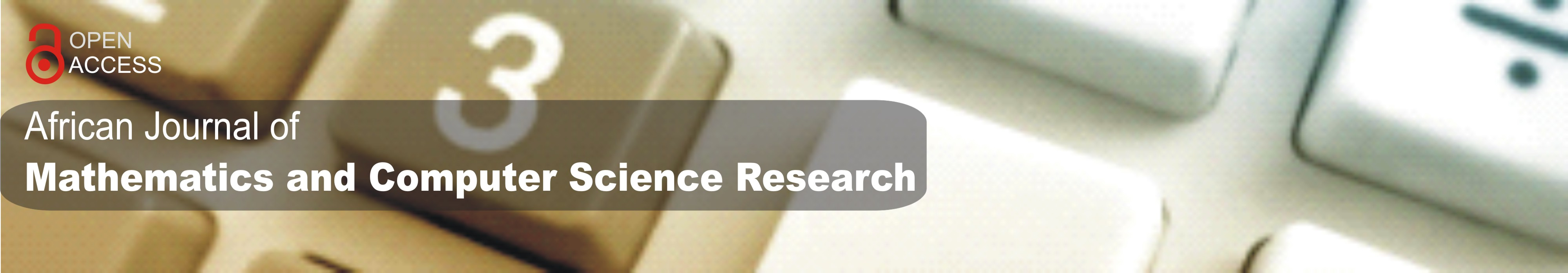 African Journal of Mathematics and Computer Science Research