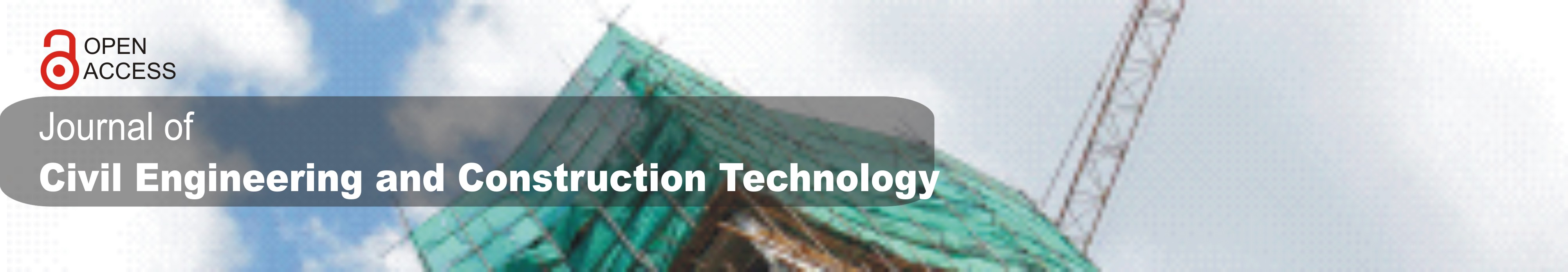 Journal of Civil Engineering and Construction Technology