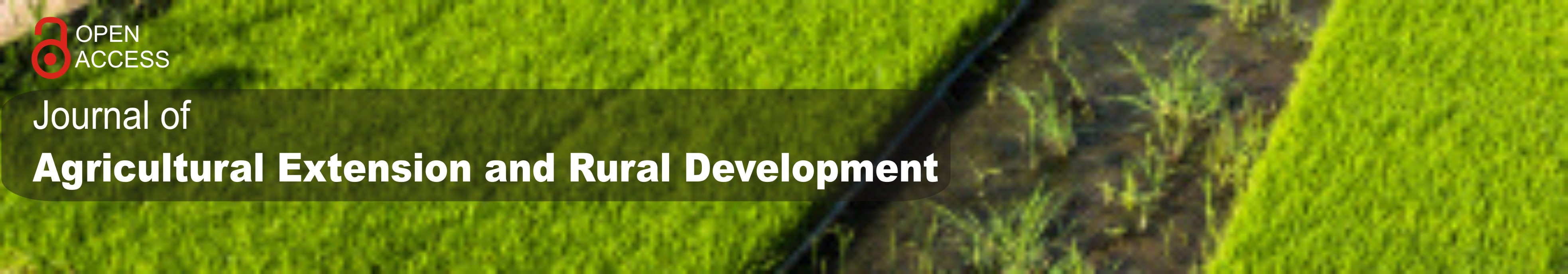 Journal of Agricultural Extension and Rural Development