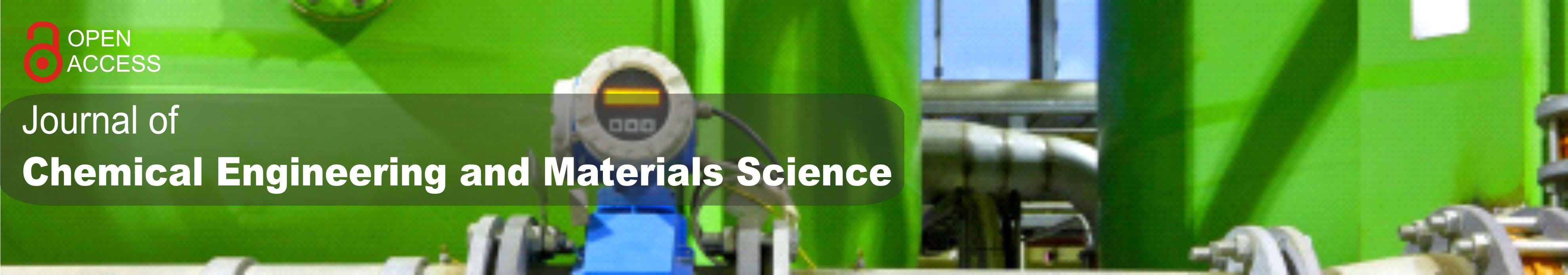Journal of Chemical Engineering and Materials Science