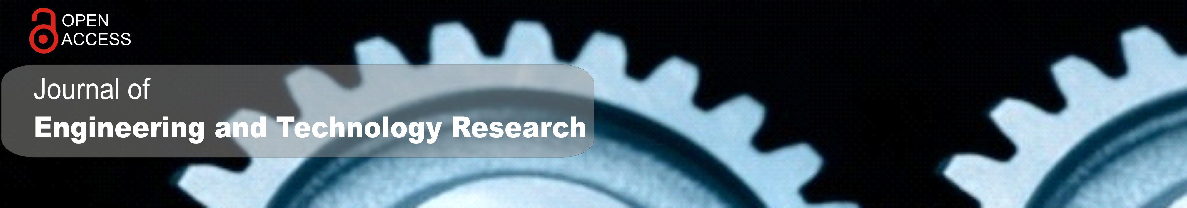 Journal of Engineering and Technology Research