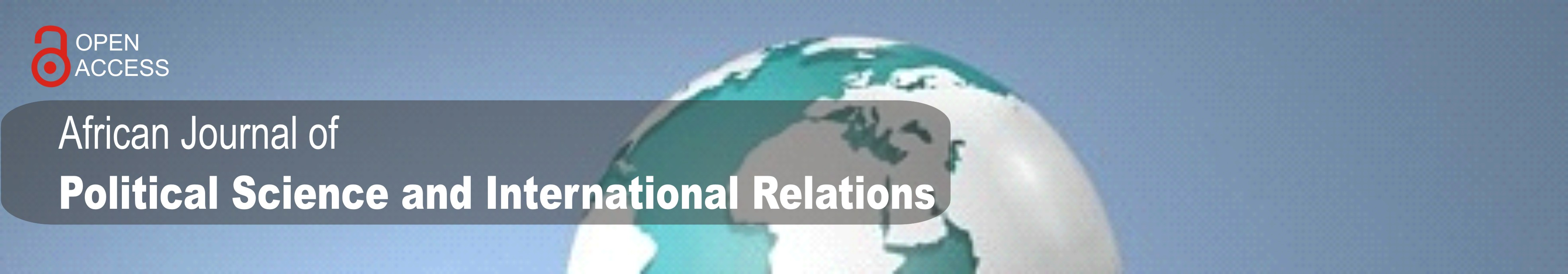 African Journal of Political Science and International Relations