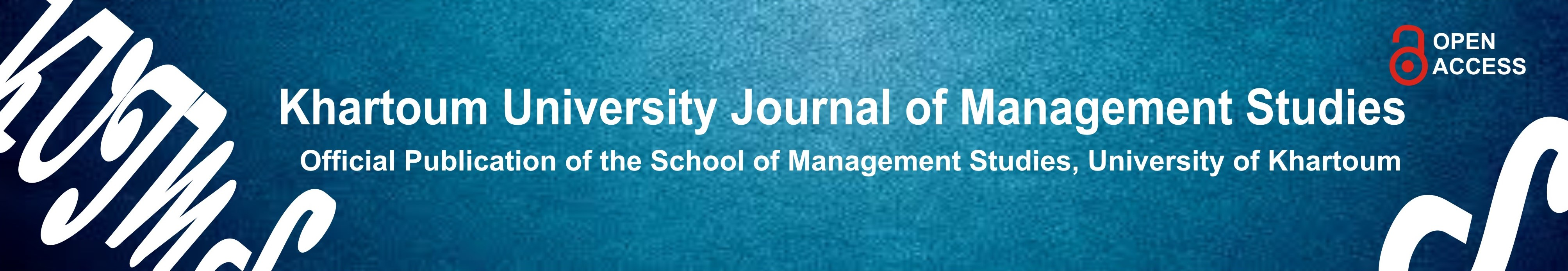 Khartoum University Journal of Management Studies