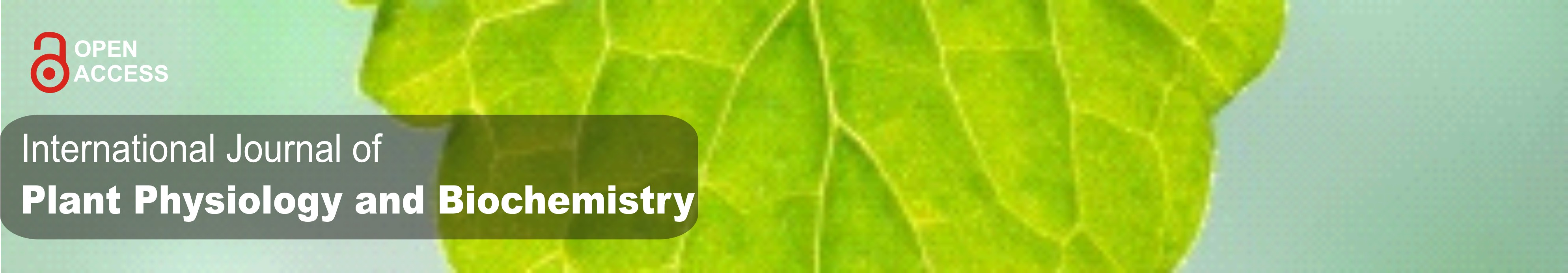 International Journal of Plant Physiology and Biochemistry
