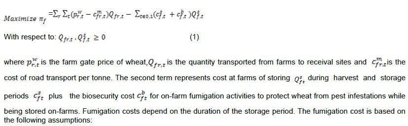 The Farmeru0027s Profit Maximisation Problem Is: